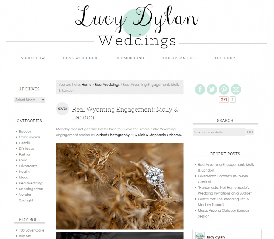 lucydylanweddings